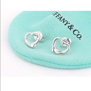 Tiffany & Co. Elsa Perretti open heart earrings